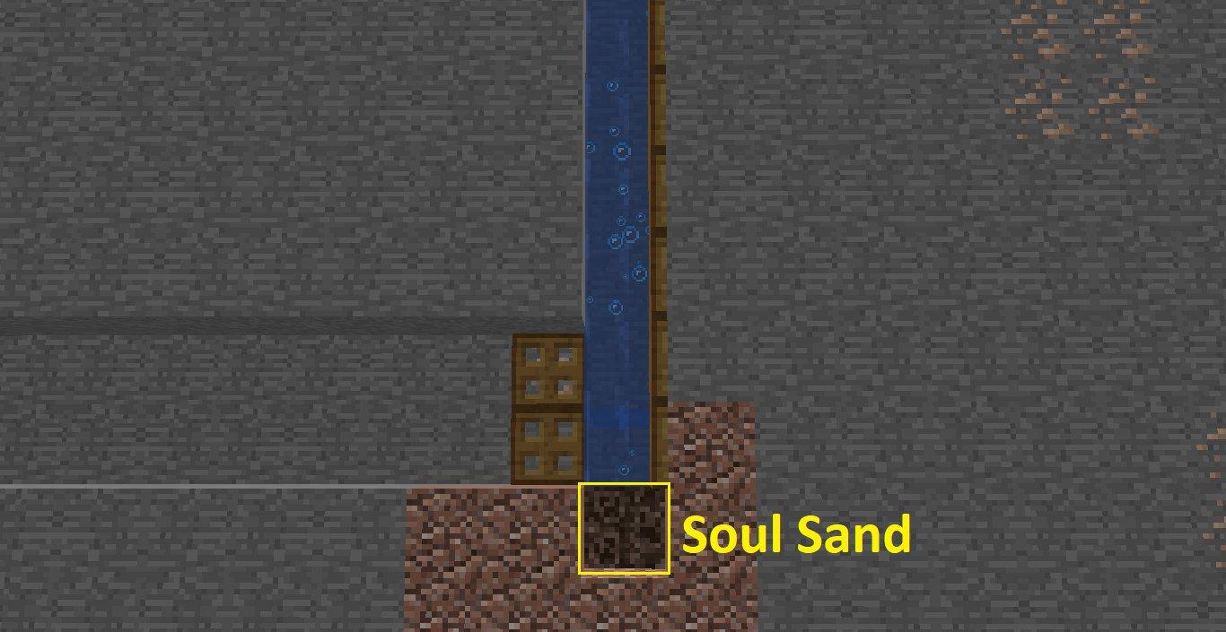 Soul sand.