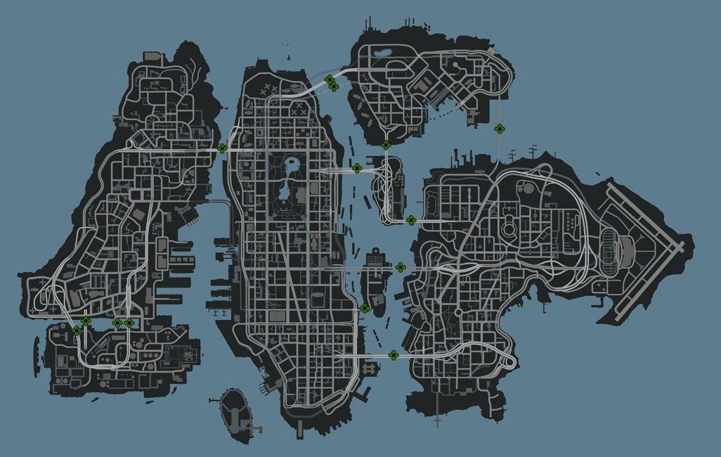 map of bridges